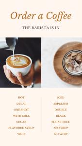 The barista inn coffees